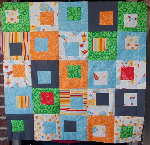 Quilt tops for Sam and Jayden