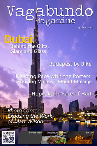Travel Magazine, Cover