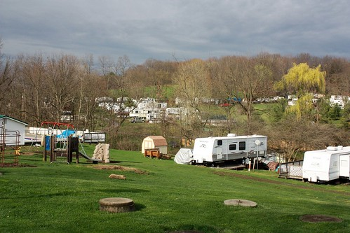 Rose Point Park Campground...lots and lots of RVs