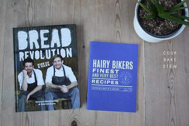 New recipe books