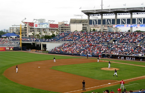 Fun February Events: Spring Training Baseball in Florida