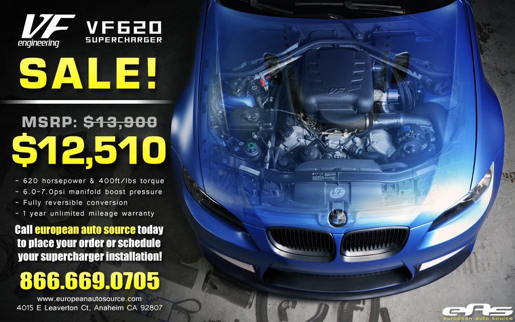 ·· eas | 10% off VF620 Supercharger Kits - limited to 10