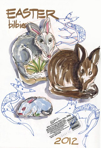 120405 Easter Bilbies by borromini bear