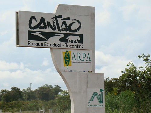 Parque Estadual do Cantão - Caseara - Tocantins - Brasil