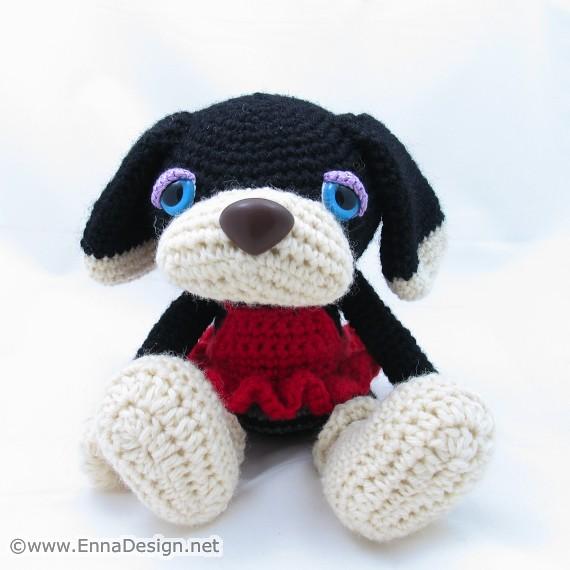 Crochet Amigurumi Blogs : Crochet Amigurumi Dog Explore enna designs photos on ...
