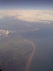 The mouth of the river Mersey