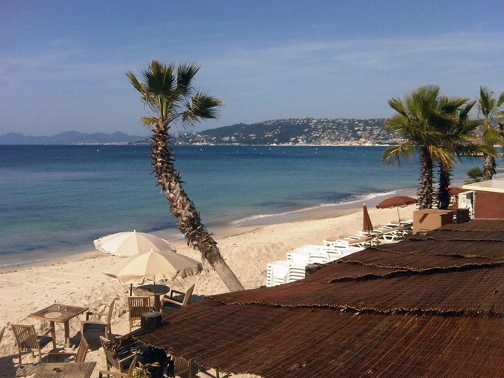 Juan-les-Pins beach