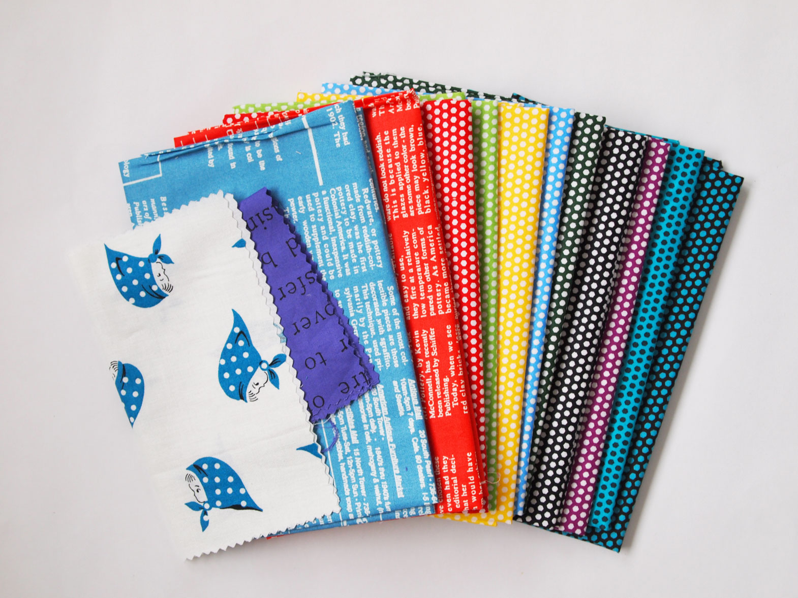 Koseki fabrics from BlijeOlifantje