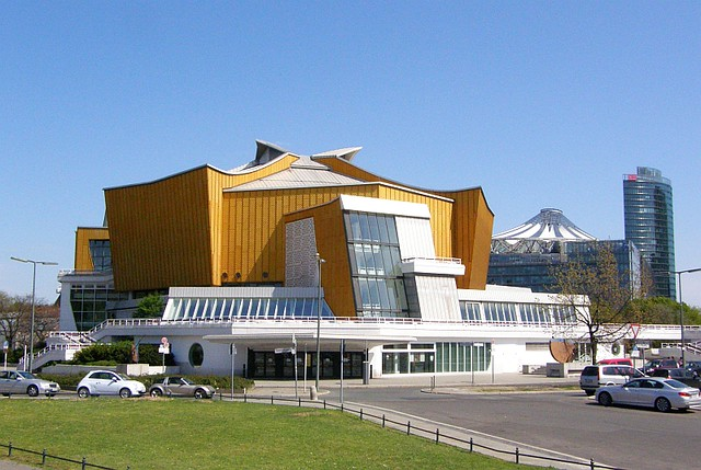 Berliner Philharmonie - flickr: Andy / Andrew Fogg