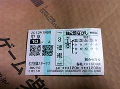 中京10R馬券