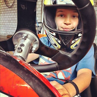 My son the racer