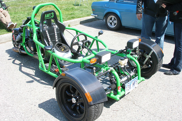 Yameb Melonchopper A High Performance Reverse Trike