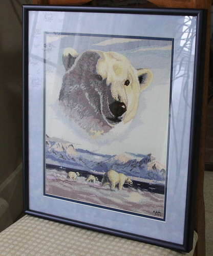 Polar Bear Framed