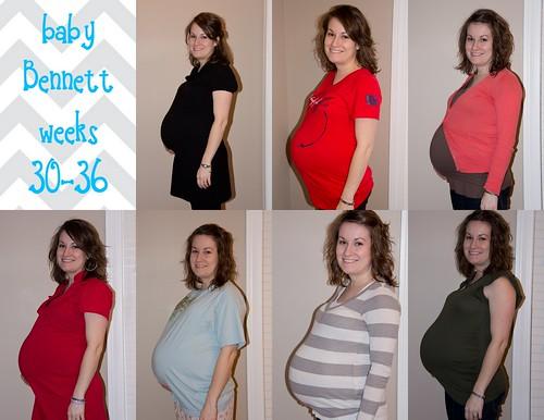 30-36 weeks