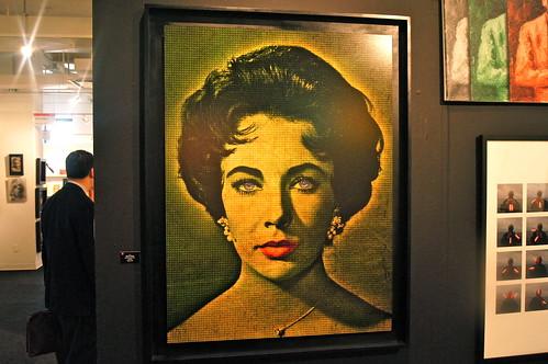 Elizabeth Taylor-Artist Bartur and Wade
