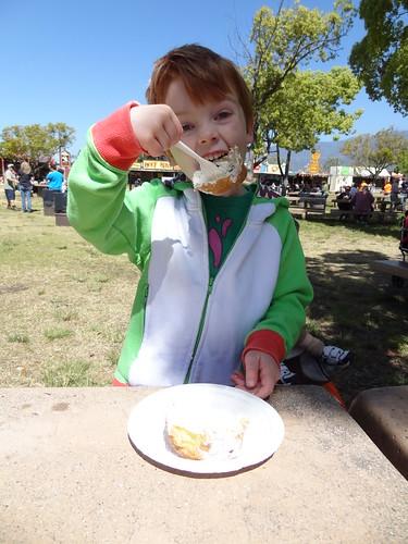 Henry Eats a Cream Puff