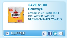 Brawny Paper Towels Coupon