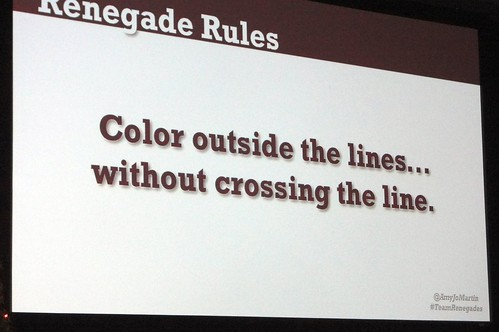 @amyjomartin Renegade Rules