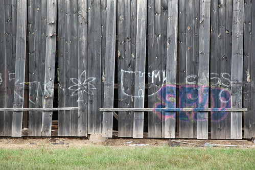 Tobacco Barn Graffiti