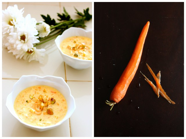 carrot pal payasam collage