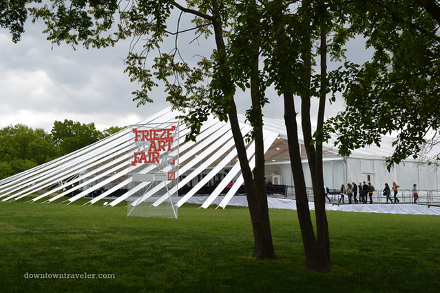 2012 Frieze New York City Art Fair Sign