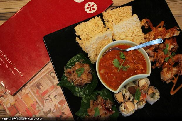 Sweet Salty Spicy - Tasting Platter