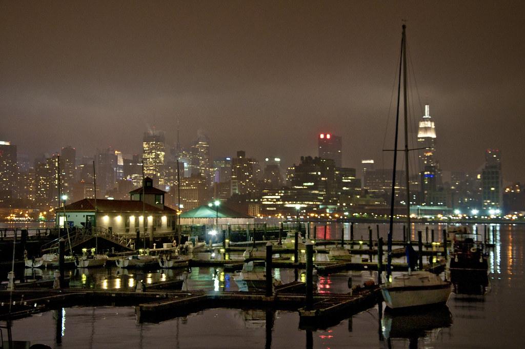 Foggy NYC Marina