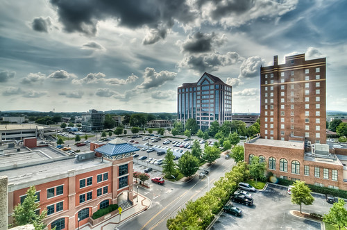 Downtown Huntsville in HDR