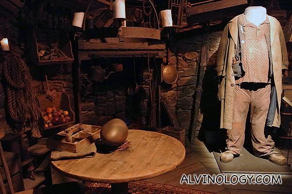 Hagrid's room