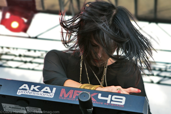 phantogram @ Governor's Ball 2012