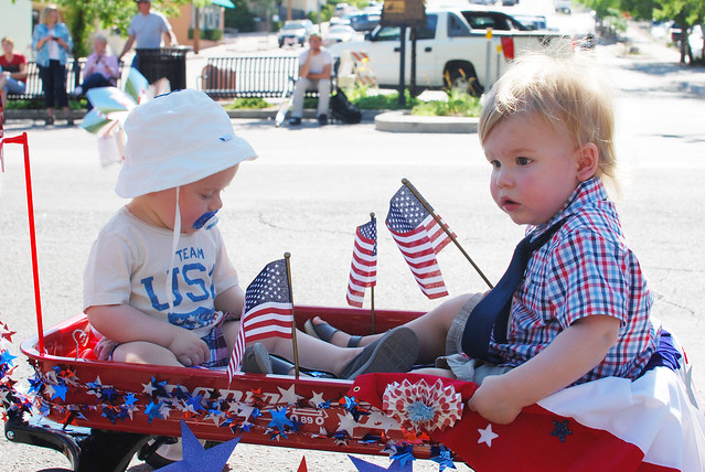 4th of July Kiddie Parade 2012