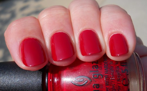 China Glaze Adventure Red-Y