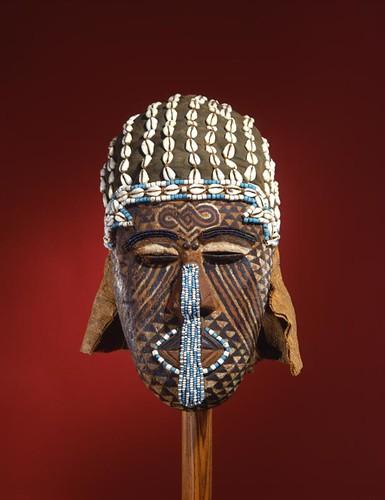 Bangongo Mask from the Congo