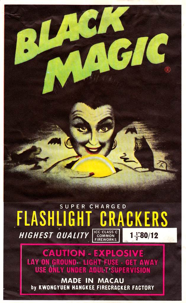 Black Magic - Firecracker Brick Label