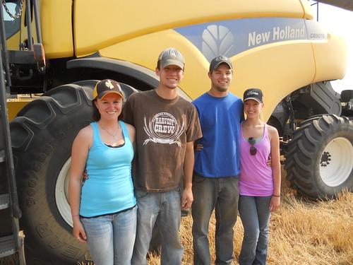 Lara, Brandon, James, and Darci