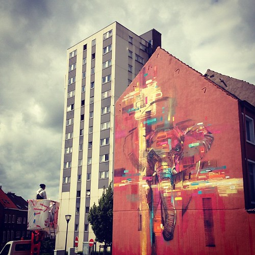 Steve Locatelli - Kosmopolite Art Tour warm up in Brussels.