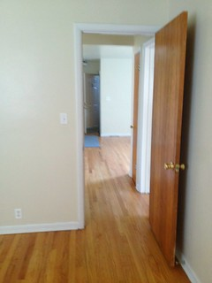 Second bedroom/office into hallway