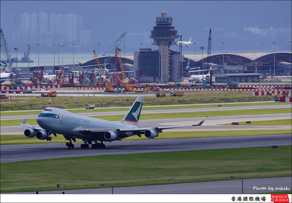 Cathay Pacific Airways / B-LIC / Hong Kong International Airport
