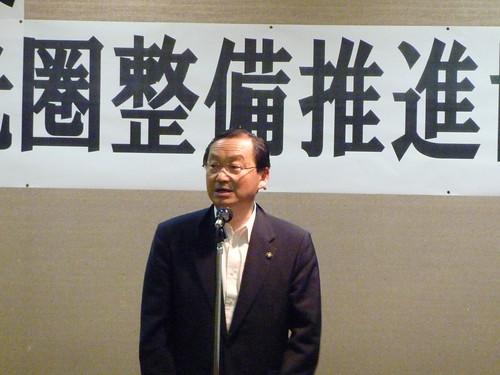八ヶ岳観光圏整備推進協議会総会 白倉会長2