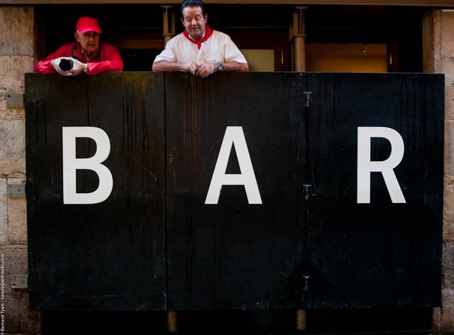 Bar! Séptimo encierro con toros de la ganadería de D. Juan Pedro Domecq - San Fermín 2012