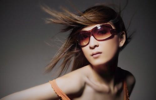 [フリー画像素材] 人物, 女性 - アジア, サングラス, ベトナム人 ID:201208310800