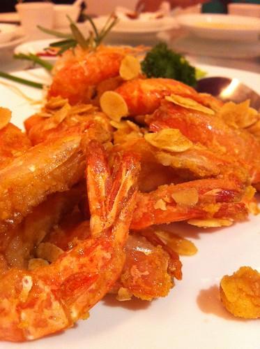 salted egg prawn