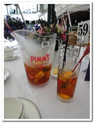 Wimbledon 2012 Pimm's