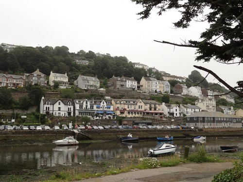 Looe on a cloudy morning