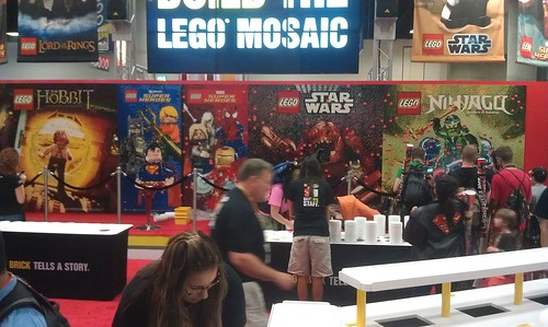 SDCC LEGO Mural - 9