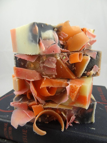 Passionate Papaya Soap July 2012 (4)