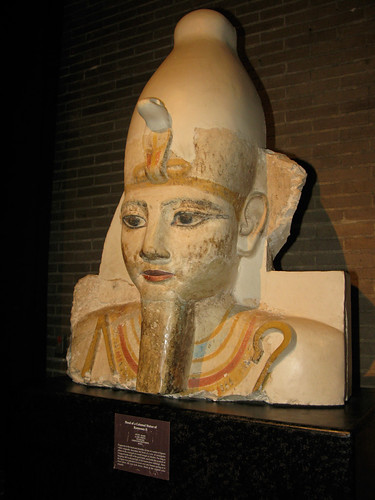 Colossal Head of Ramses II from Abydos Egypt, ca. 1290-1224 BCE