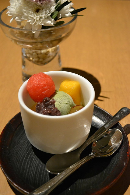 Matcha Ice Cream with Fruits, Kuriya Penthouse