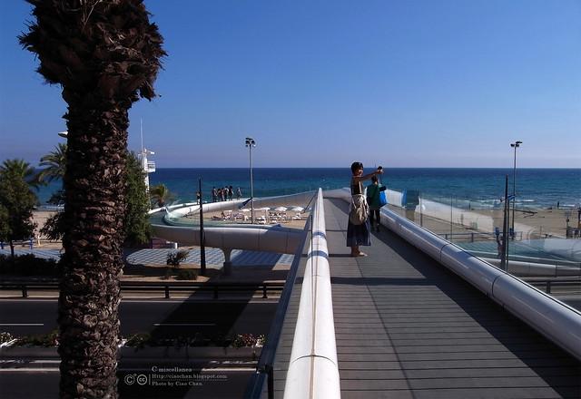 Hola Alicante~ 阿利坎特。地中海的熱度 Castillo de Santa Barbara 聖巴巴拉城   R1043729