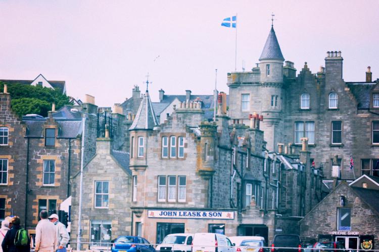 shetland old buildings
